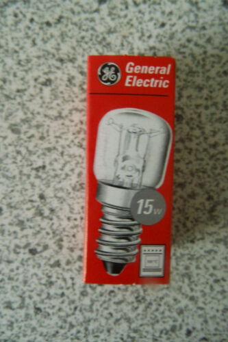 5 x General Electric Backofenlampen E14 15 W Neu unbenutzt.