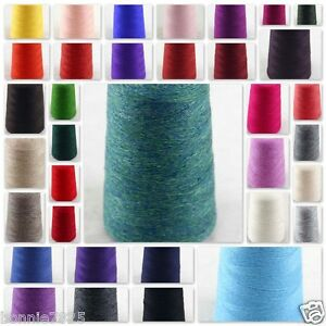 NEW-Luxurious-Soft-100g-Mongolian-Pure-Cashmere-Hand-Knitting-1-Cone-Wool-Yarn