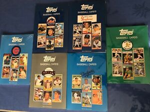 TOPPS-Surf-BASEBALL-CARDS-BOOK-lot-of-6-PRICE-STERN-SLOAN-w-Counter-Display-NEW