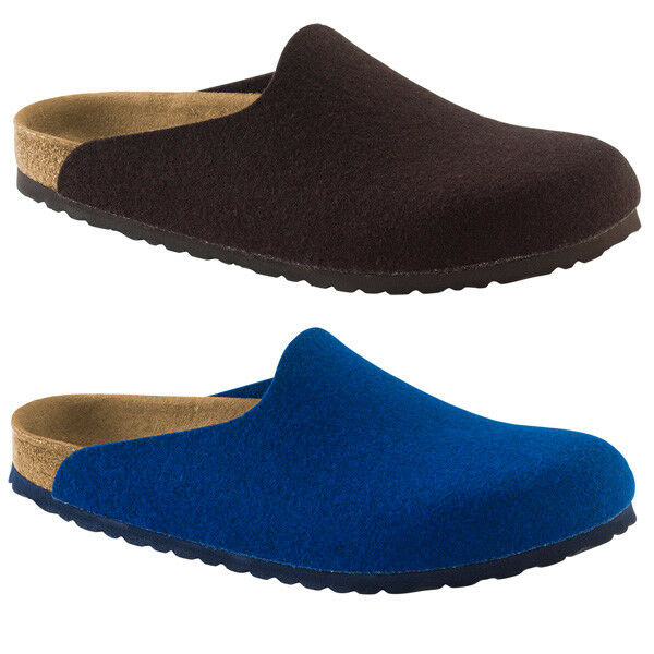 Birkenstock Amsterdam Wollfilz Clogs Schuhe Hausschuhe Pantoletten Clog Sandale
