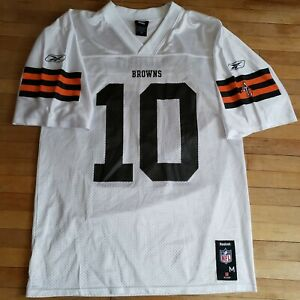 white browns jersey