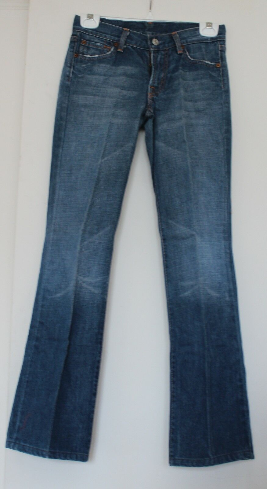 7 FOR ALL MANKIND Women's Boot Cut Jeans Sz 25 (Pre-owned)