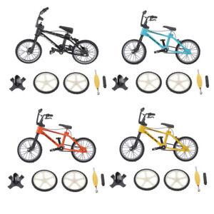 Mini Desk Gadget BMX Bicycle Model Finger Board Bike Toy Kids Toy Gifts