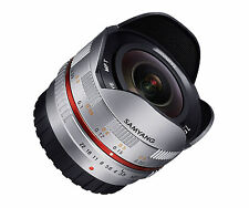 Samyang 7.5mm F3.5 Wide-Angle Fisheye Lens for Micro Four Thirds (M4/3) Silver