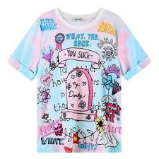 You Suck Grave Yard T-Shirt Kawaii Harajuku Fashion Pastel Goth - LS0025