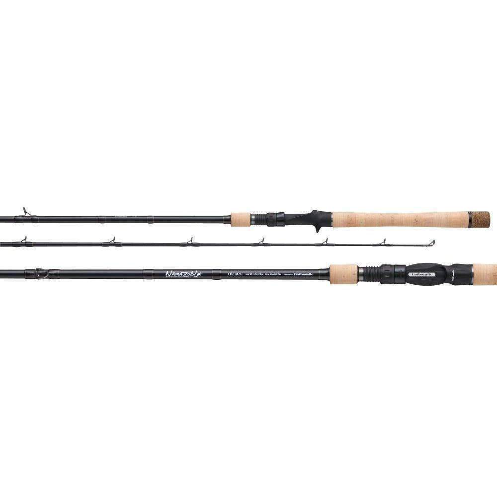Tailwalk NAMAZON C58MH Baitcasting Rod for Bass