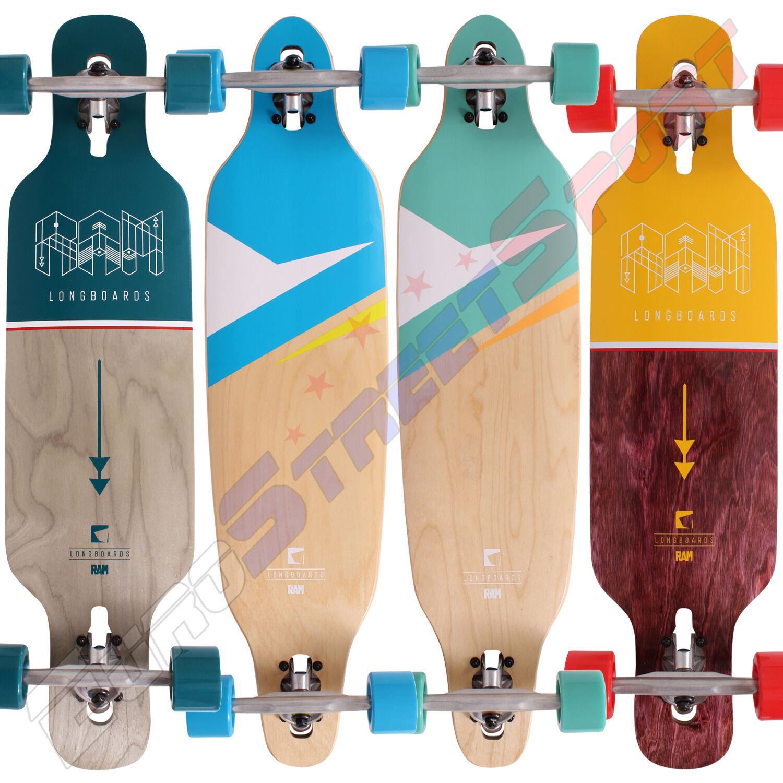 Komplett Longboard Lokz oder CIEMAH RAM Skateboard - 2017 Neu