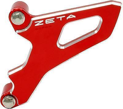 Zeta Drive Cover Red Anodized Aluminum Case Saver Honda ZE80-9045