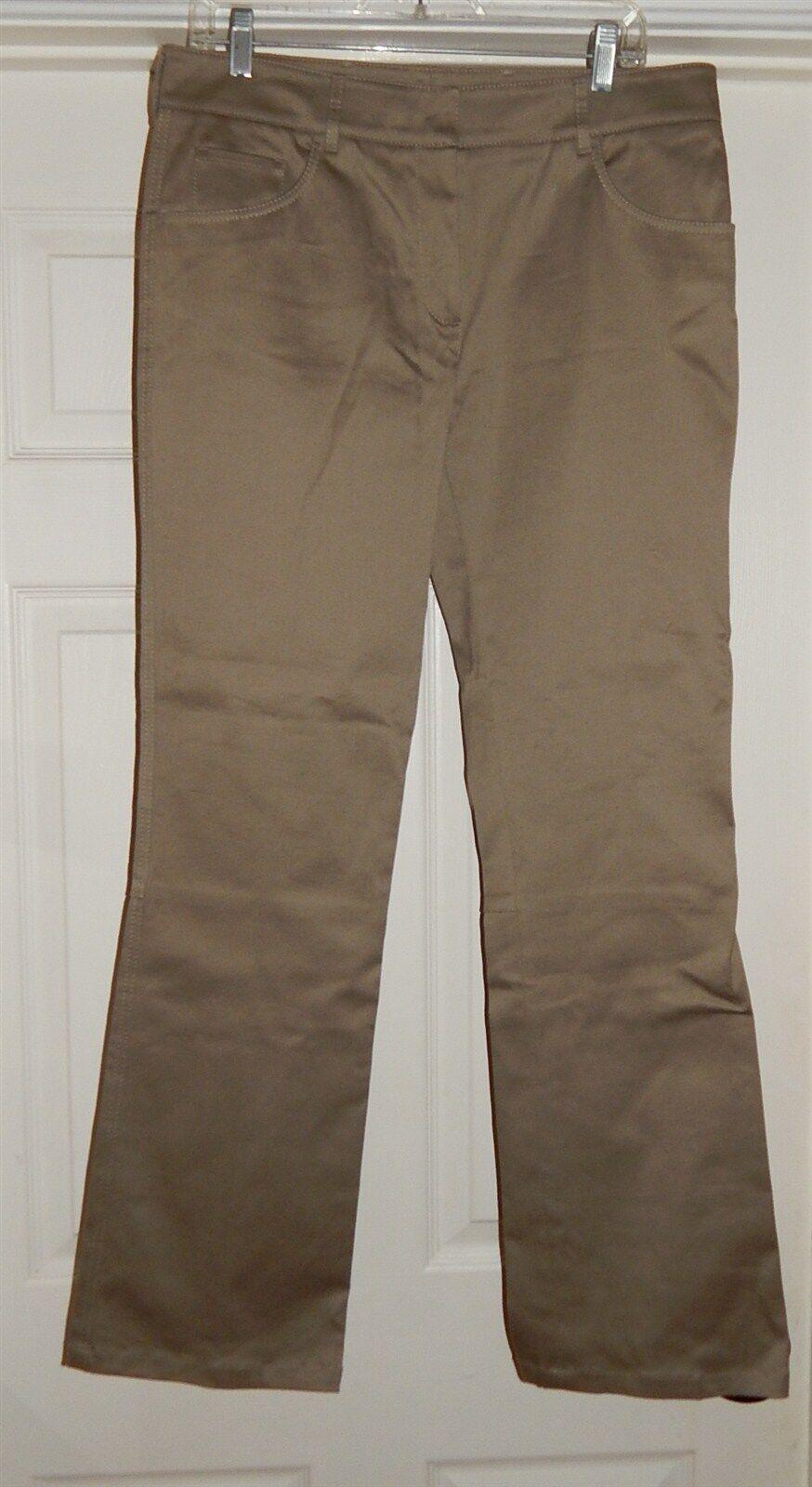 New Prada sz 46 Stretch Cotton Khaki Beige Pants  475