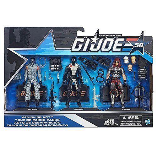 G.I. Joe, 50th Anniversary, Vanishing Act Action Figure Set [Hit & Run, Torpedo,