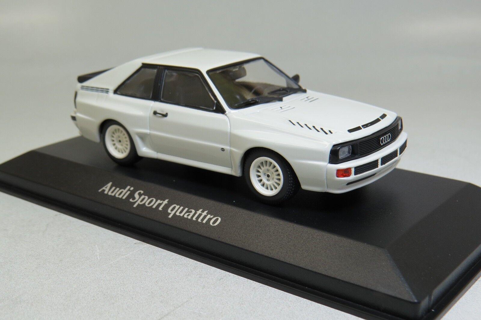 Minichamps Audi Sport Quattro 1984 blanco 1 43 940012121