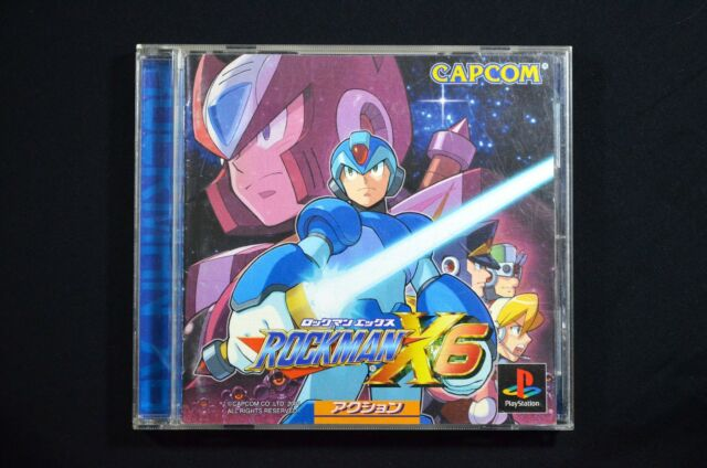 Rockman X6 - Mega Man X6 - Rare Japanese Version PS1 PlayStation 1, 2001