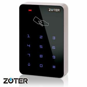 Image is loading Backlit-Keys-Touch-Panel-Door-Access-Control-RFID-  sc 1 st  eBay & Backlit Keys Touch Panel Door Access Control RFID 125KHz Reader ...