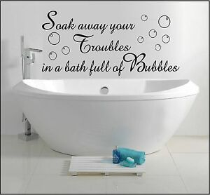 BATHROOM-WALL-ART-STICKER-QUOTE-DECAL-SOAK-AWAY-BATH-BUBBLES-HOME-DECOR-SAYINGS