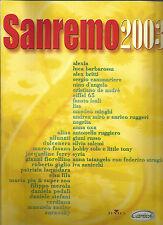 SANREMO 2003 - ACCORDI E TESTI  - SPARTITI - BMG - CARISCH