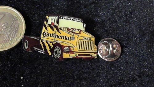 Continental Truck Racing Pin Badge Sisu