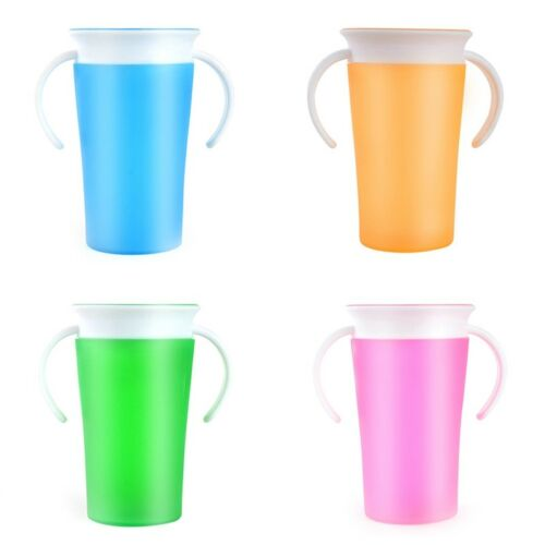 360 Degree Magic Drinking Prevent Leaking Cup Training Cups For Children Student