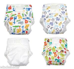 Windeln Stoffwindel Windelhose Babywindeln  ohne mit Einlagen Waschbar Soft DE