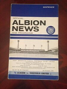 West-Bromich-Albion-v-Sheffield-United-programme-1965-66