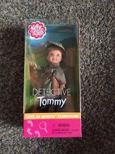 Free Shipping! Rare! 2001 NIB Kelly Club Detective Tommy Mattel Barbie Friends