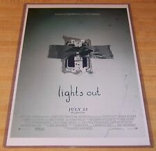 Light's Out James Wan 11X17 Horror Movie Poster