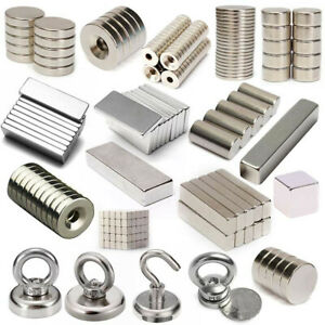 1-100pcs-Super-Strong-Cylinder-Round-Disc-Rare-Earth-Neodymium-Magnet-Recovery
