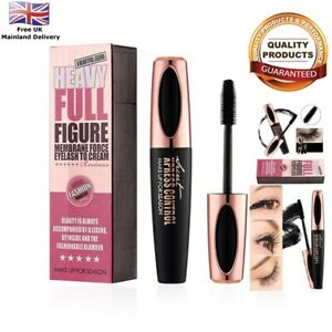 4D-Fibra-de-Seda-mascarra-impermeable-pestanas-Extension-de-Pestanas-de-Larga-Duracion-maquillaje