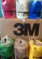 "3M Coban Self Adherent Wrap ASSORTED COLORS 3""x 5 yds Roll Elastic Non Adhesive"