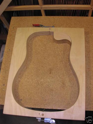 Martin Guitar kit Guitar Mold for Cutaway   standard    14 fret Drot