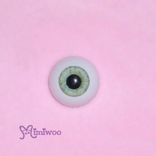 Green  GF20R06 Mimiwoo 1//3 BJD Doll Acrylic Eye 20mm HALF Round
