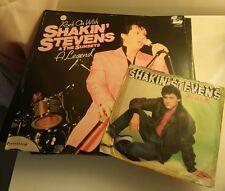 "SHAKIN' STEVENS & THE SUNSETS : ROCK ON WITH .. A LEGEND Vinyl LP 12"" Excellent"