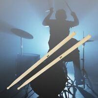 New 1 Pair Music Band Maple Wood Drum Sticks Drumsticks 5A
