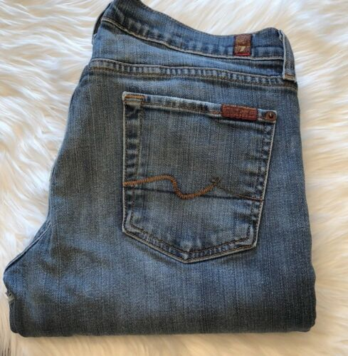 «bootcut» Mankind For 30 Jeans All taille Wash imparfait 7 7 De taille Light YBqwHaI
