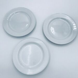 Lot-Of-3-Pottery-Barn-Salad-Plates-Coupe-Great-White-8-Inch