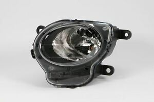 Fiat-500-07-15-Front-Black-DRL-Daytime-Running-Light-Left-Passenger-N-S-OEM