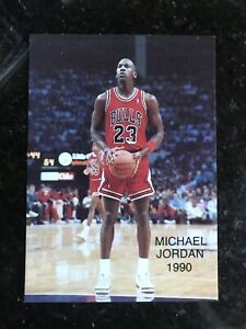 1990-MICHAEL-JORDAN-Rare-Oddball-ALL-STAR-1-NMMT-Chicago-Bulls-Basketball-Card