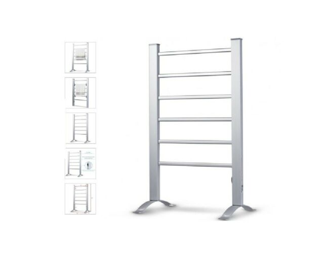 Heated Towel Rack 2 In 1 Freestanding Or Wall Mounted Electric Towel Warmer For Sale Online