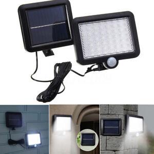 56-LED-Energia-solare-Sensore-di-movimento-Luce-Flood-EsternoGiardino-Lampada