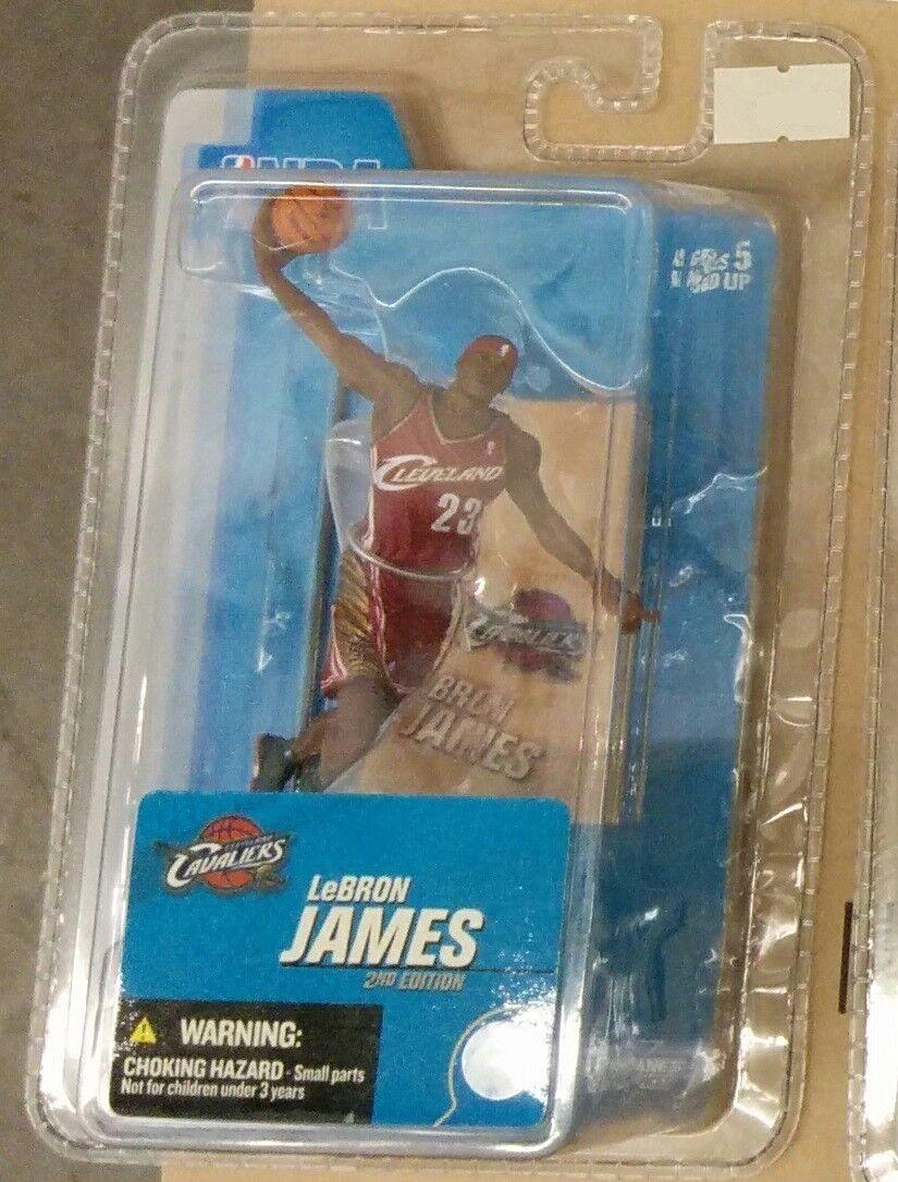 McFarlane NBA Lebron James (Cleveland Cavaliers) 3  Inch Figure Figure Figure def0c5