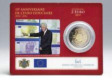Lussemburgo coincard 2012  10 anni TYE