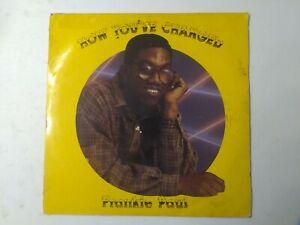 Frankie-Paul-How-You-039-ve-Changed-Vinyl-LP-1991-REGGAE-DANCEHALL