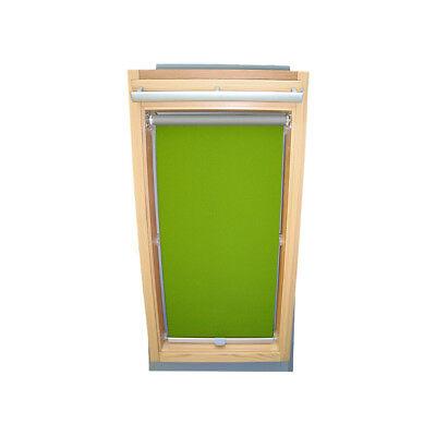 Dachfensterrollo Sichtschutz für Velux Dachfenster VU//VL Y//VKU limone