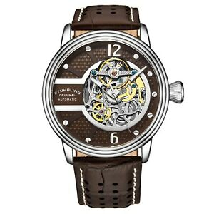 Stuhrling-3971-Automatic-Skeleton-Perforated-Embossed-Leather-With-Stitching