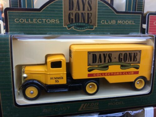 LLEDO Days Gone Collectors Club models FORD CHEVY MACK Bedford AEC Morris Foden