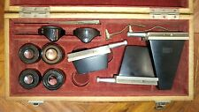 STEREO MICROSCOPE NACHET BINOCULAIRE BINOCULAR ANCIEN VINTAGE TROUSSE ACCESSOIRS