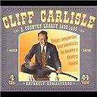 Cliff Carlisle - Country Legacy (1930-1939, 2004)
