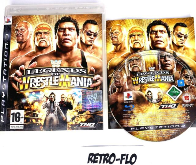 Legend Of Wrestle Mania - Jeu Sony Playstation PS3 Complet