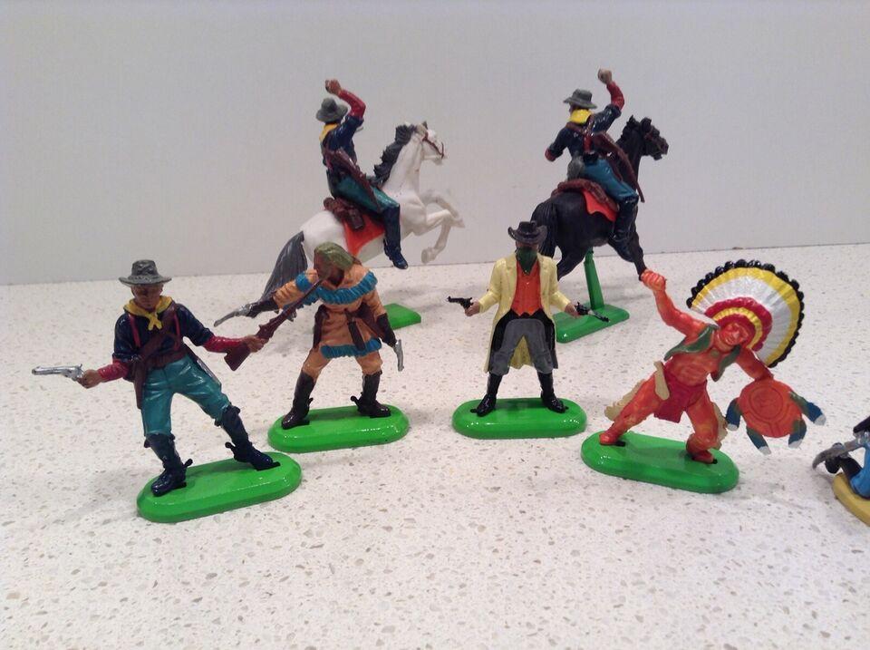 Figurer, Cowboy indianer, Britains