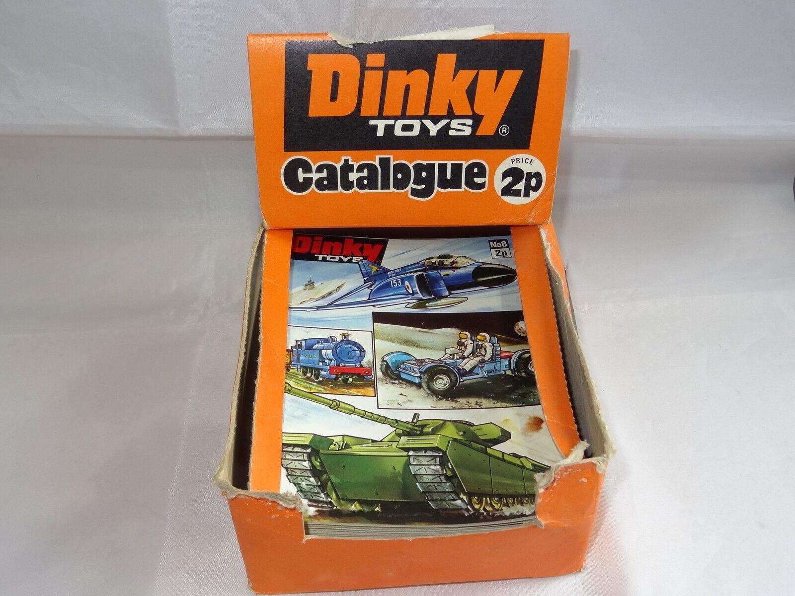 DINKY commercio negozio Banco Dispenser & 23 x N. 8 cataloghi