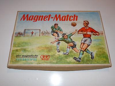 Ages Magnet Match Fussball Spiel 50er Jahre Spielzeug Soccer Game Kann Wiederholt Umgeformt Werden.